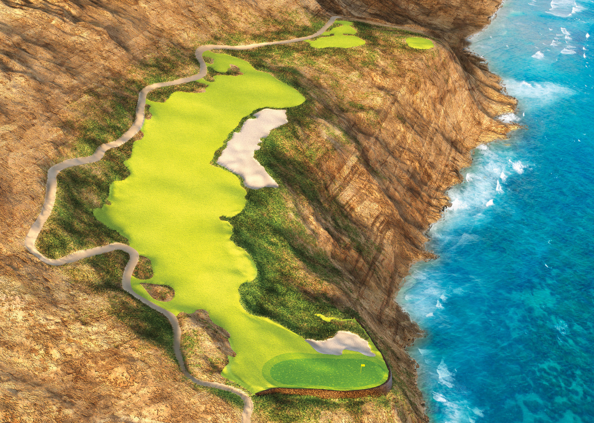 Nicklaus on how to play a Drivable Par 4